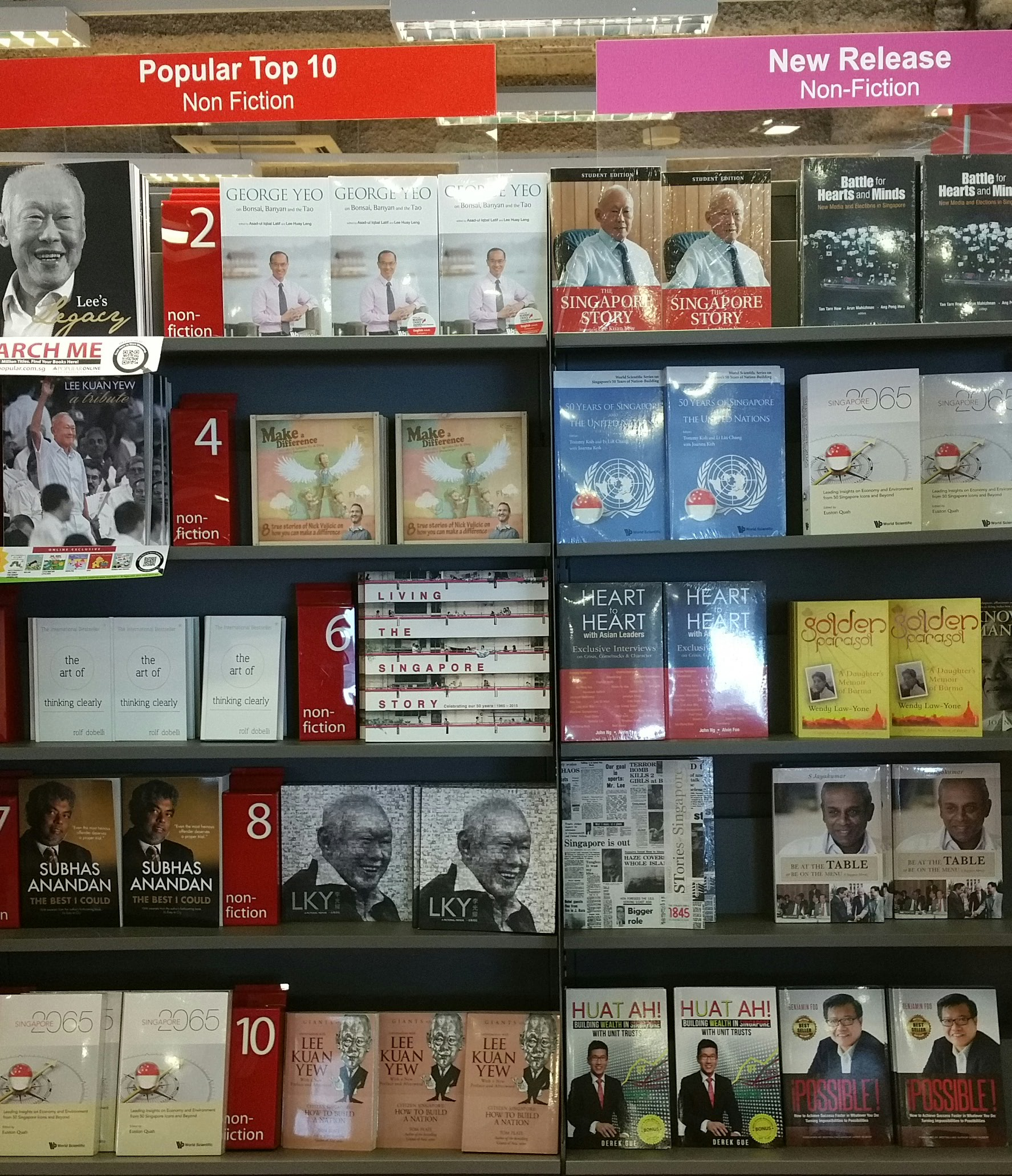 Benjamin Foo and Lee Kuan Yew Books 2015-09-08 15.17.07